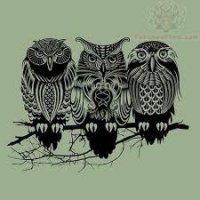 52 owl tree tattoos ideas