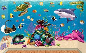 under water scenes