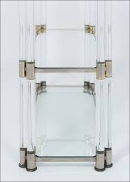 bookcases storages u0026 shelves attractive pieces of lucite