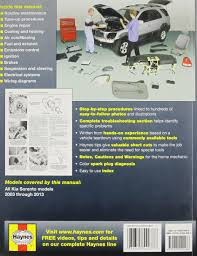 kia sorento automotive repair manual 2003 13 haynes automotive