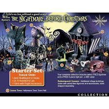 tim burton u0027s nightmare before christmas village collection