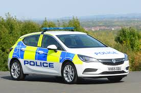 vauxhall anglia astras arrest vauxhall signs large uk police car deal auto express