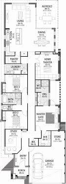 narrow lot floor plan narrow lot house plans single story new 60 elegant single story