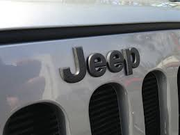 jeep cj grill logo off road jeep black grille emblem