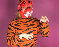 Daniel Tiger Halloween Costume Tiger Costume Etsy