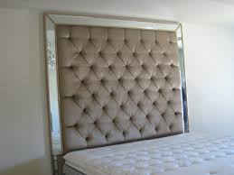 furniture tufted mirrored headboard tufted headboard tuft