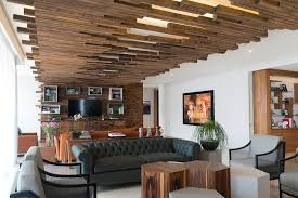 define livingroom the decorative ceiling design in this living room will get your