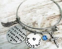memorial bracelets for loved ones loss of a loved one etsy