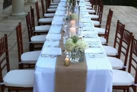 burlap decorations for wedding rustic wedding table runners burlap table runners 12 inches wide