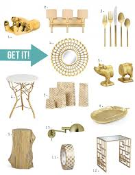 home decor trend a touch of gorgeous gold stencil stories