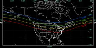 where are the northern lights located aurora wikipedia