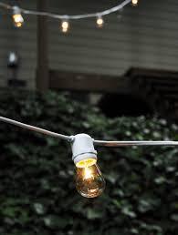 quality globe lights string lights 24ct 54ft white cord