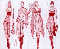 100 best fashion sketches images on pinterest drawings fashion