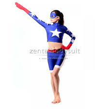 cosplay stargirl spandex lycra superhero zentai costume