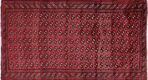 Bokhara Oriental Rugs 4 X 7 Elephant Feet Design Persian Bokhara Rug W1827