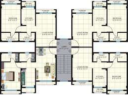 1 bhk floor plan untitled