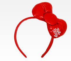 hello headband hello big ribbon headband glittering hello