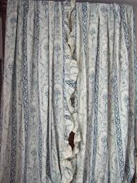 Curtains Printed Designs Antique French Chateau Curtains Toile Huge Drapes Printed Fine
