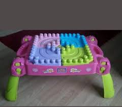 my first mega bloks table mega blocks princess table with full bag of my first builder