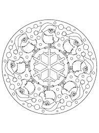christmas mandalas to color picture coloring christmas mandalas to