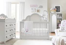 Wooden Nursery Decor by Baby Bed Furniture Sets Flower And Butterfly Theme White Wooden