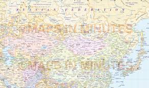 Bishkek Map Vector World Map America Centric Political Gall Projection With