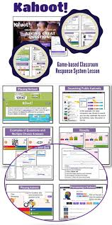 class response system kahoot lesson guide web browser quizzes and students