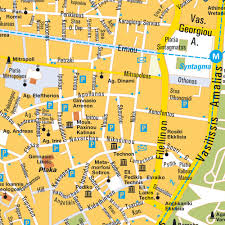 Greece Maps by Map Athens Greece City Center Central Downtown Maps And