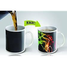 heated coffee mug amazon com heat sensitive mug color changing coffee mug funny