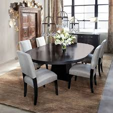 leighton dining room set arhaus leighton small dining table pedastal oval table exactly