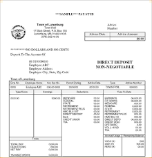 Payroll Statement Template by 7 Pay Stub Exle Timeline Template