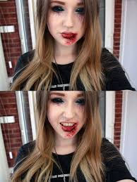 vampire make up by u003dnatmorley on deviantart holiday ideas