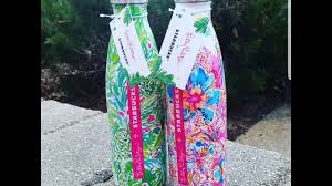 Lilly Pulitzer For Starbucks Haul Lilly Loves Starbucks Swell Bottles Youtube