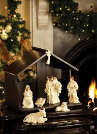 belleek living collection ornaments nativity