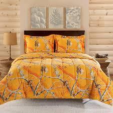 Twin Camo Bedding Realtree Orange Camo Comforter Set Shopko