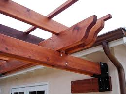 Attached Pergola Kits by Pergola Kits Attached To House Attached Garden Pergolas Outdoor