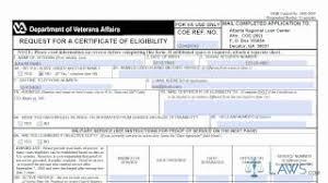 va loan amount worksheet va entitlement calculator worksheet fill