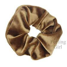 hair scrunchies furling 1 pc lot free shipping high end large velvet hair