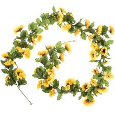 mini sunflower garland hobby lobby 751610