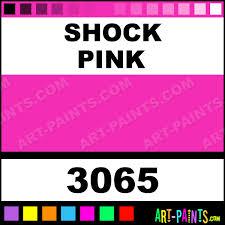 shock pink aquacote fluorescent enamel paints 3065 shock pink