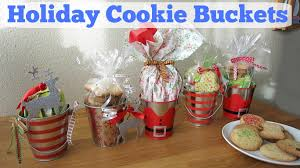 diy holiday cookie buckets christmas gift ideas youtube