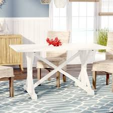 distressed kitchen table and chairs farmhouse dining tables birch lane