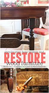 best 25 restore wood furniture ideas on pinterest refinish wood