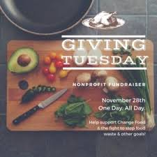 cuisine chagne giving tuesday to change food change food