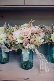 Blue Vases For Wedding 49 Best Mason Jar Centerpieces Images On Pinterest Mason Jar