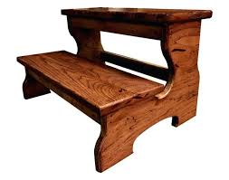 stool beautiful mahogany step stool two step stool choose finish