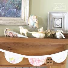 Easter Home Decorations Easter Home Decor 2017 The Mantel Aimee Ferre