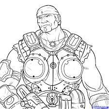 gears of war coloring pages top gears of war coloring pages