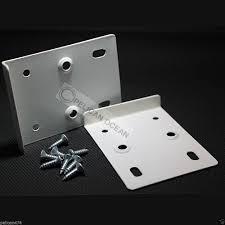 2 hinge repair plate kitchen unit cupboard door white cream