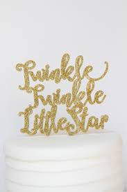 twinkle twinkle little star baby shower 1st birthday cake topper